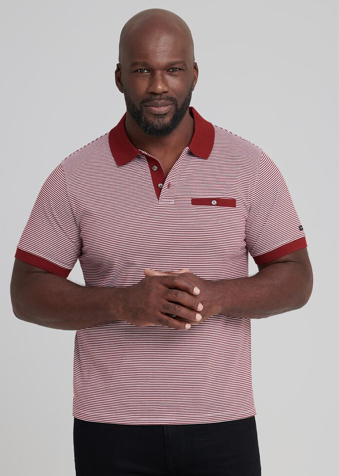 Stripe Polo Shirt, , hi-res