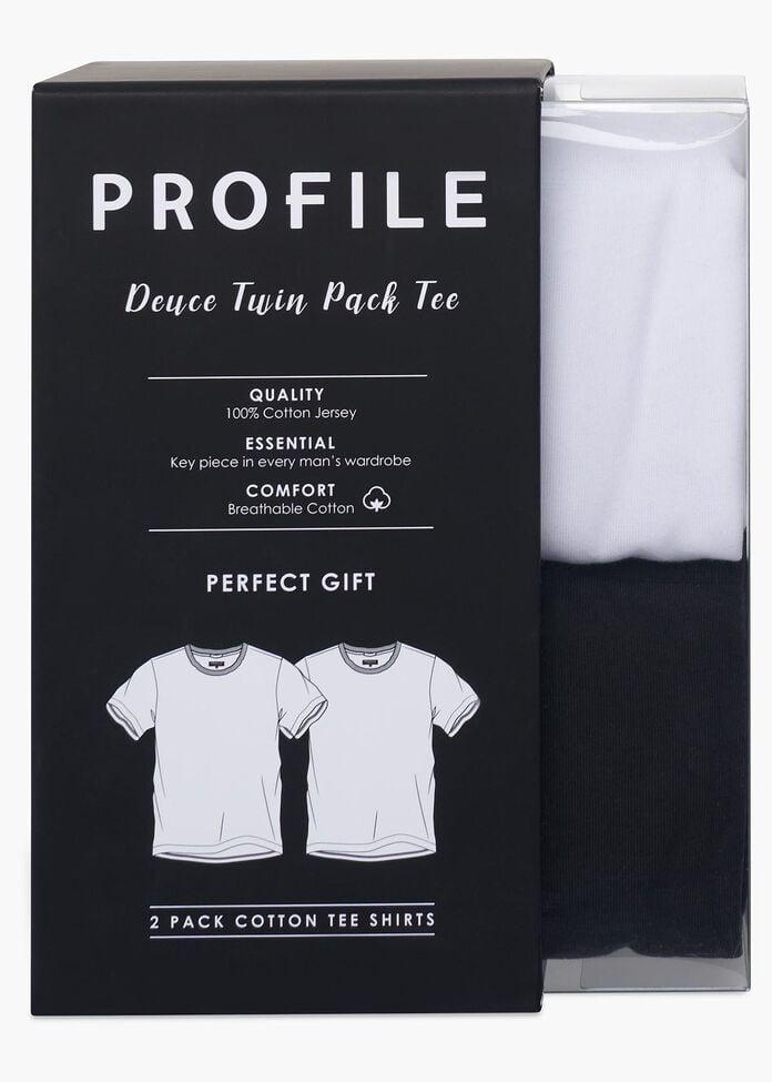 Deuce 2 Pack Crew Tee, , hi-res