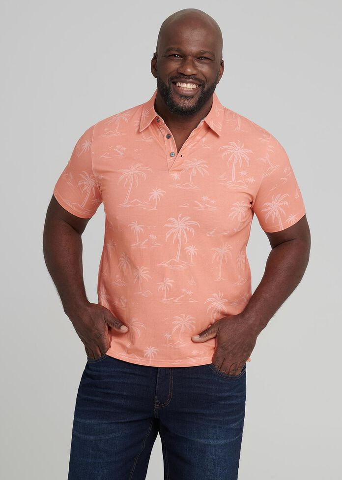 Palms Polo Shirt, , hi-res