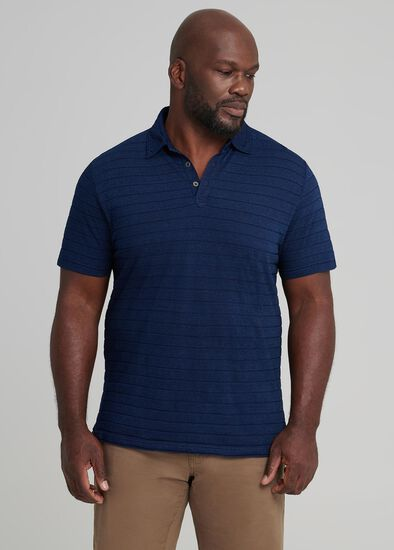 Stern Stripe Polo