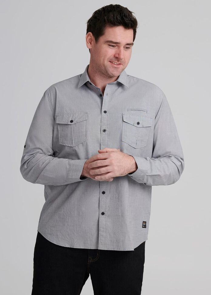 Octave Long Sleeve Shirt, , hi-res