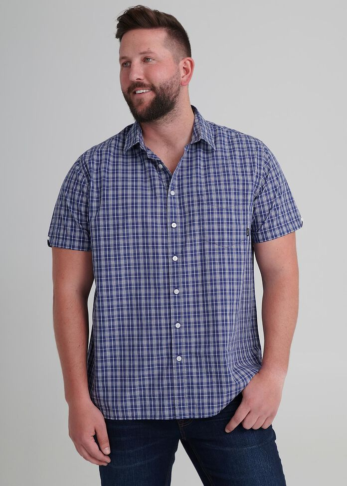 Crafted Check Shirt, , hi-res