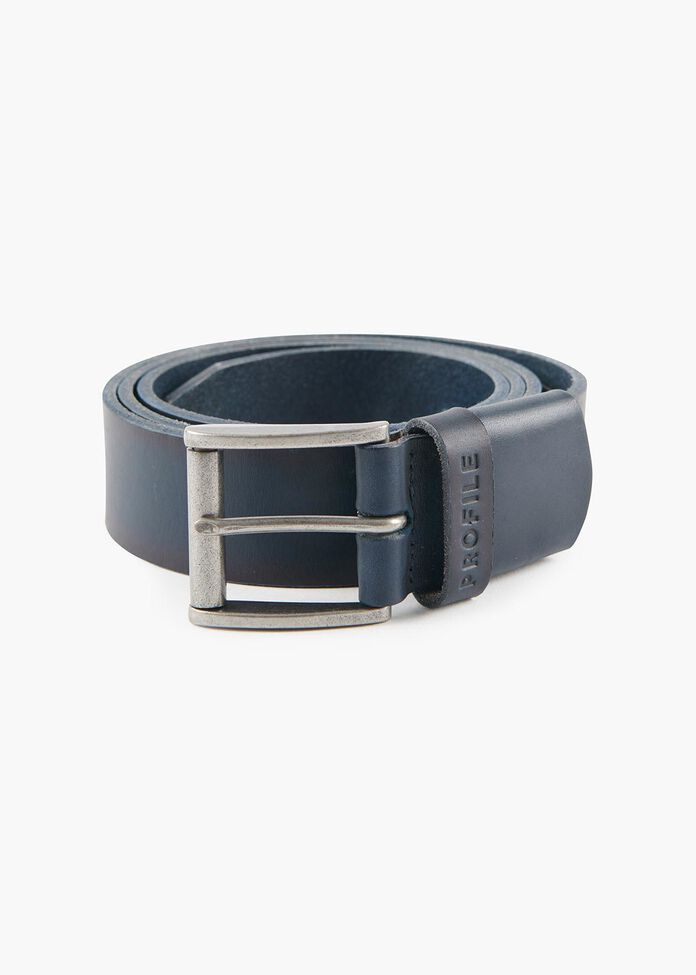 Bowery Leather Belt, , hi-res