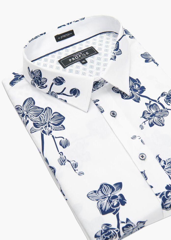 Orchid Floral Shirt, , hi-res