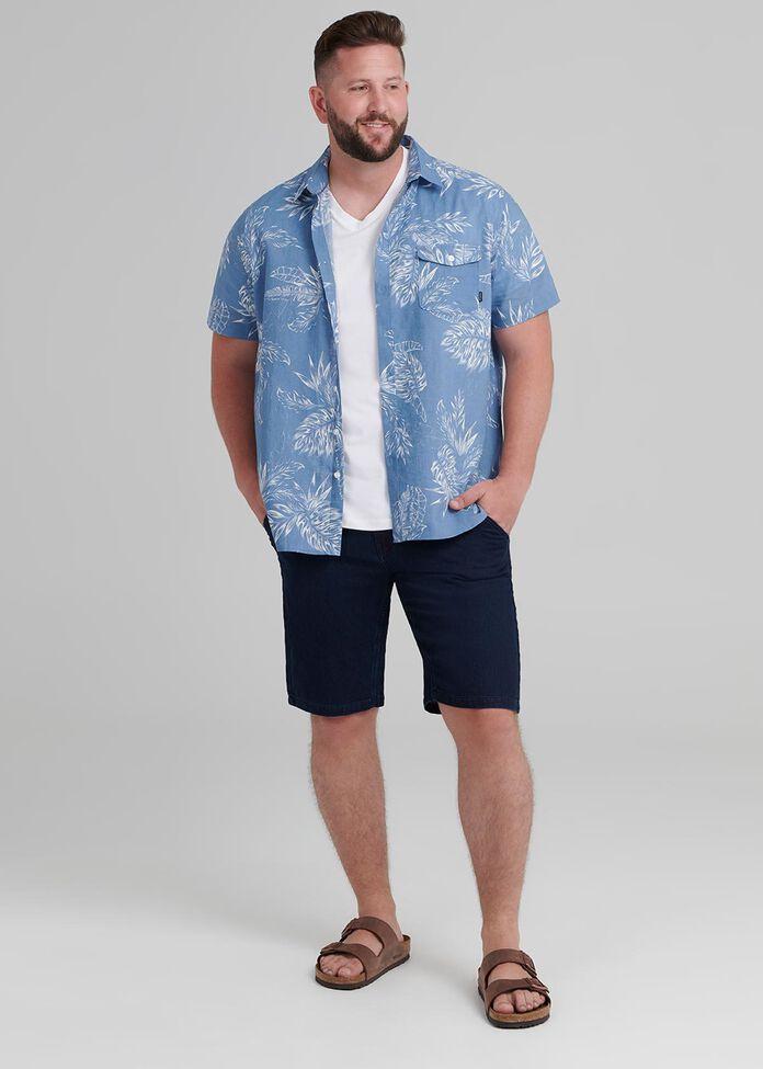 Palm Floral Shirt, , hi-res