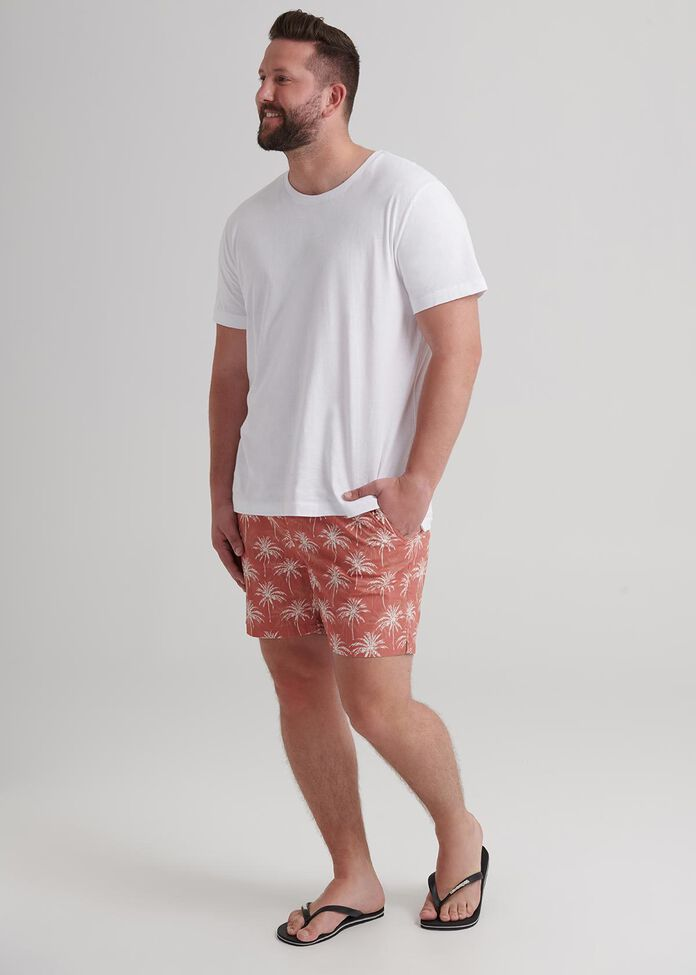 Palms Pull On Swim Short, , hi-res