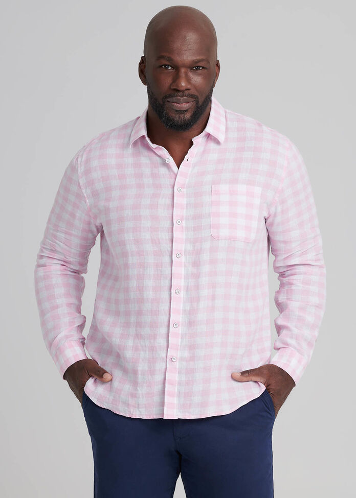 Dillion Linen Shirt, , hi-res
