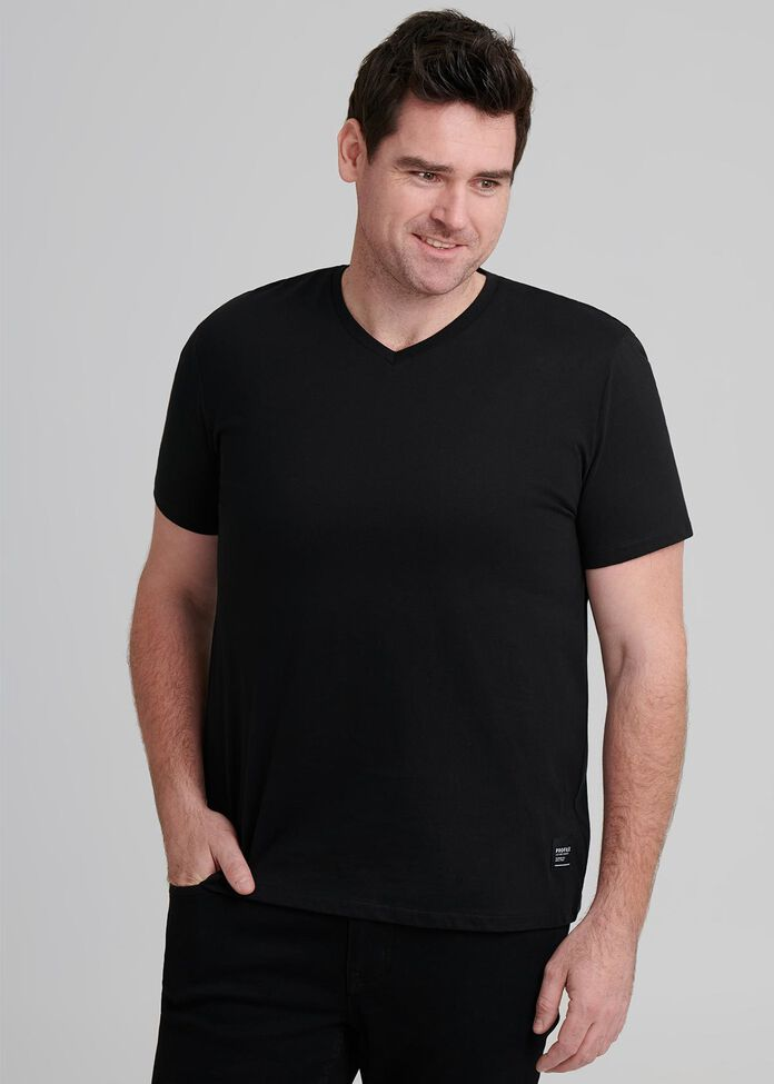 Max V Neck T Shirt, , hi-res