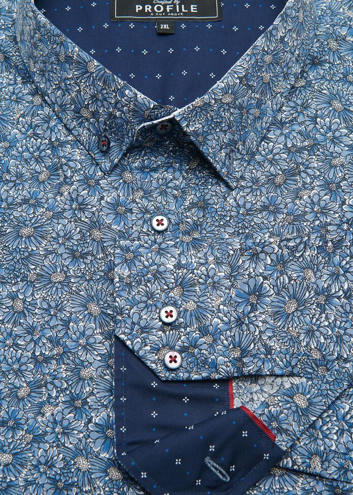 Naples Floral Shirt, , hi-res