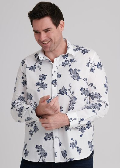 Orchid Floral Shirt