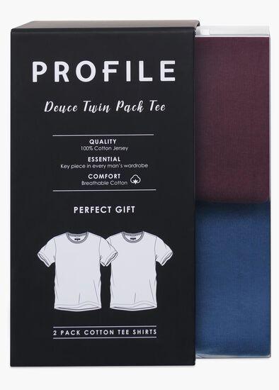 Deuce 2 Pack Crew Tee