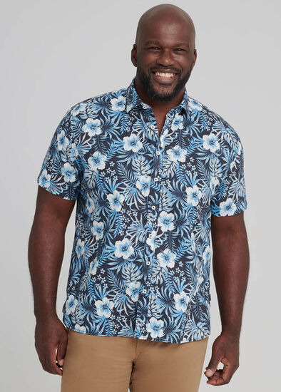Hibiscus Floral Shirt