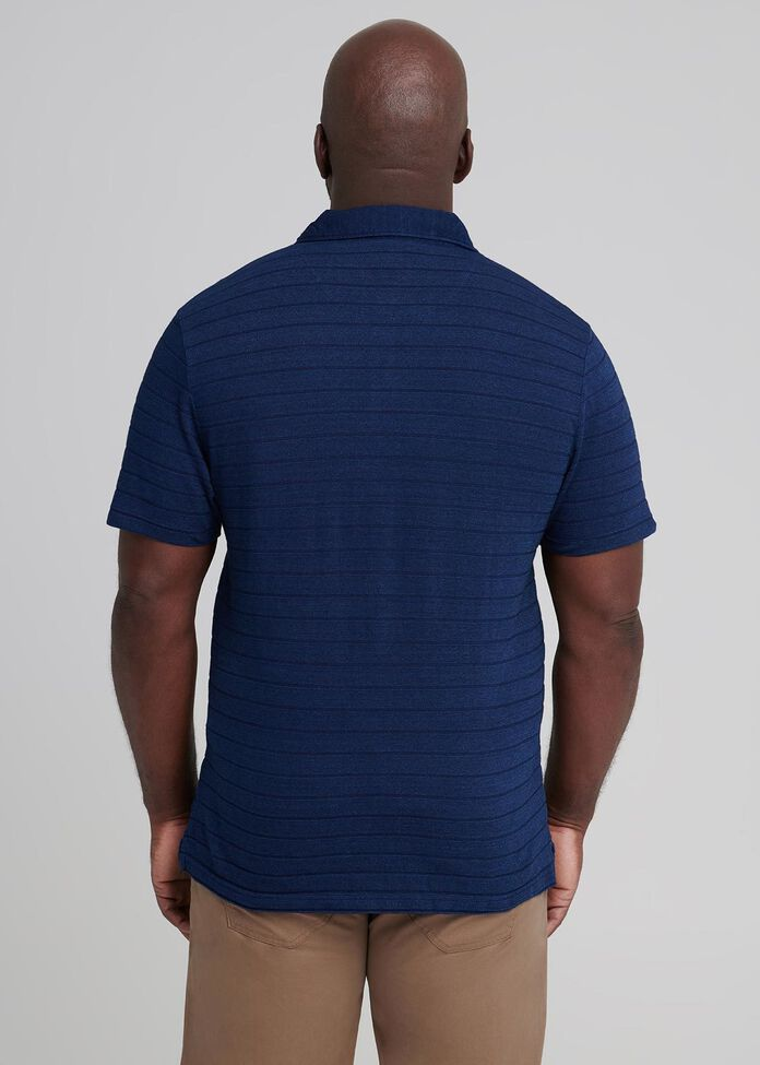 Stern Stripe Polo, , hi-res