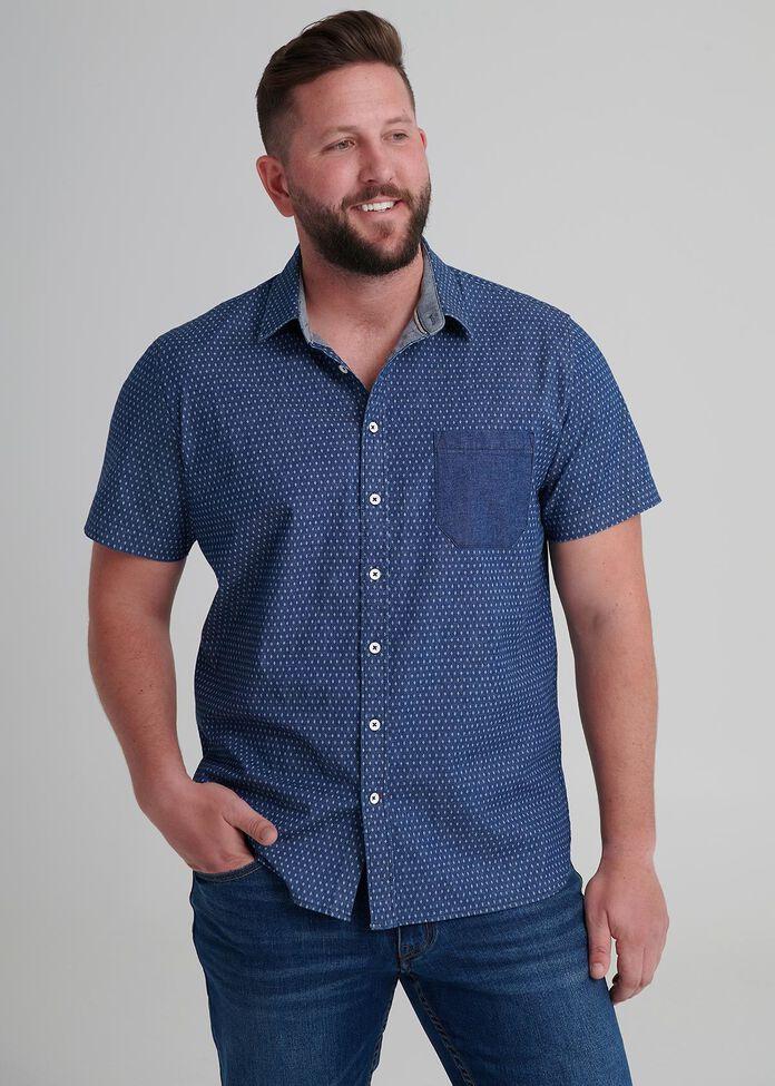 Aztec Denim Shirt, , hi-res