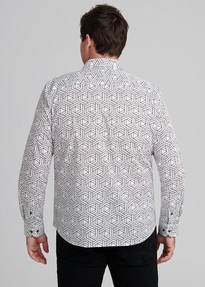 Hex Long Sleeve Shirt, , hi-res