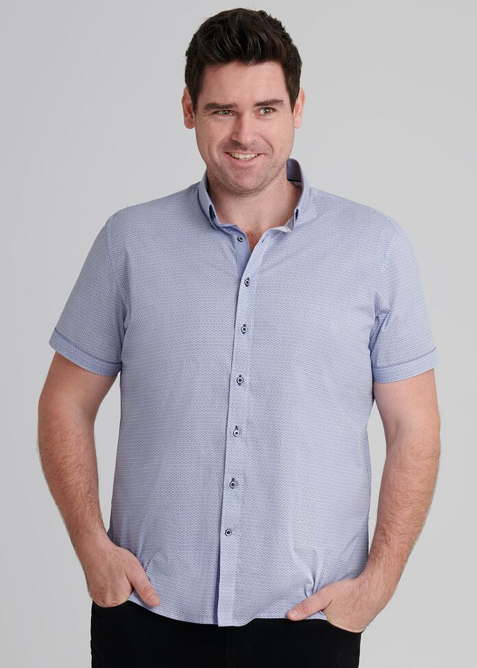 Geo Short Sleeve Shirt, , hi-res