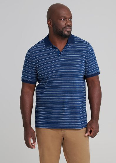 Blaze Stripe Polo