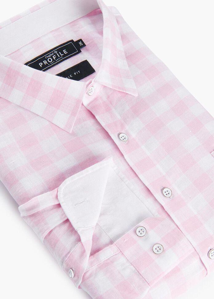 Dillion Linen Shirt, , hi-res