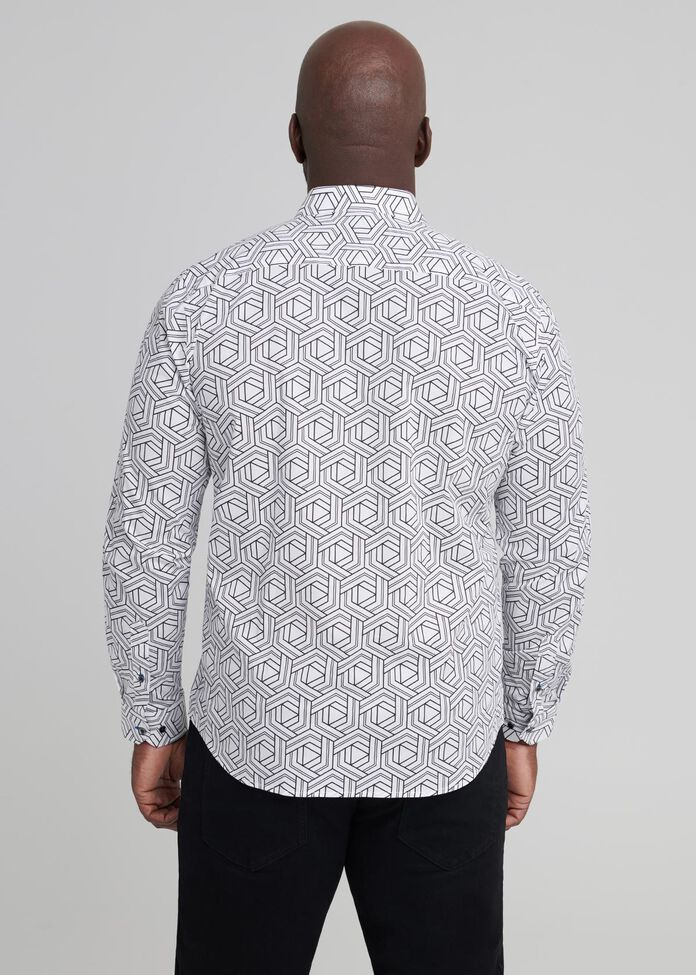 Hex Long Sleeve Shirt, , hi-res
