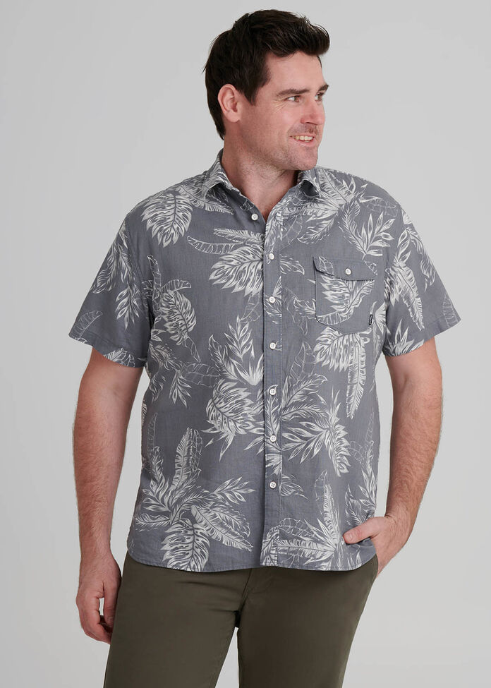 Palm Floral Shirt, , hi-res