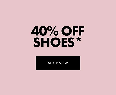 40% off Shoes